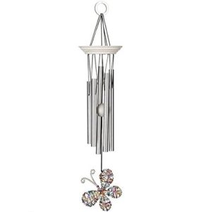 Woodstock Isabelles Dancing Butterfly Wind Chime