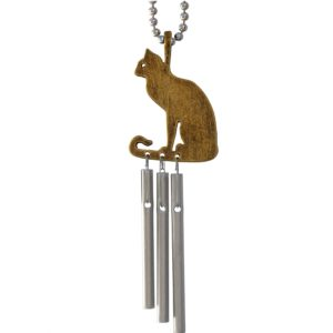 Jacobs Musical Car Charm, Cat, Mini Wind Chime