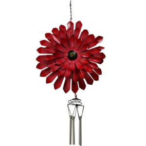 Red Flower Wind Chime