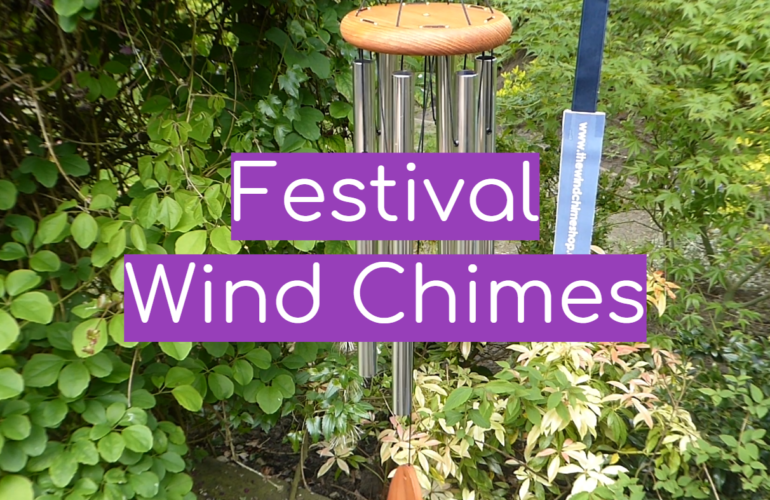 5 Festival Wind Chimes