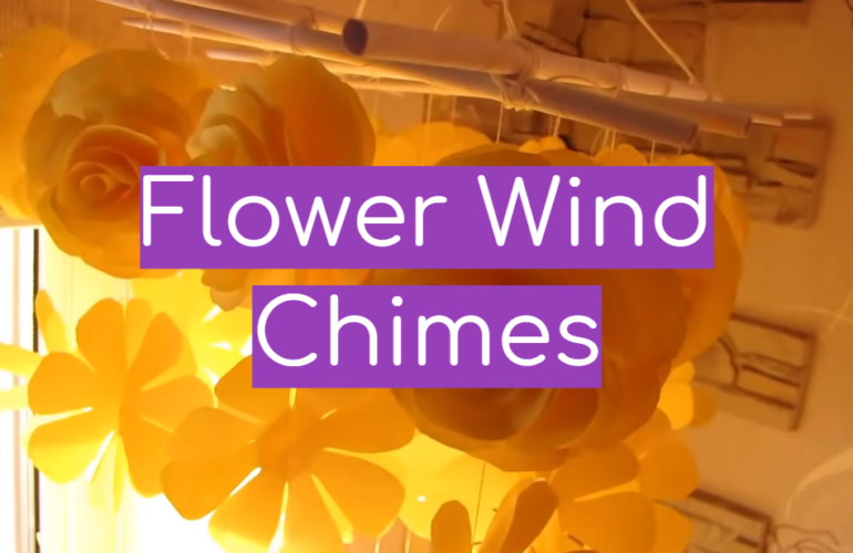 5 Flower Wind Chimes