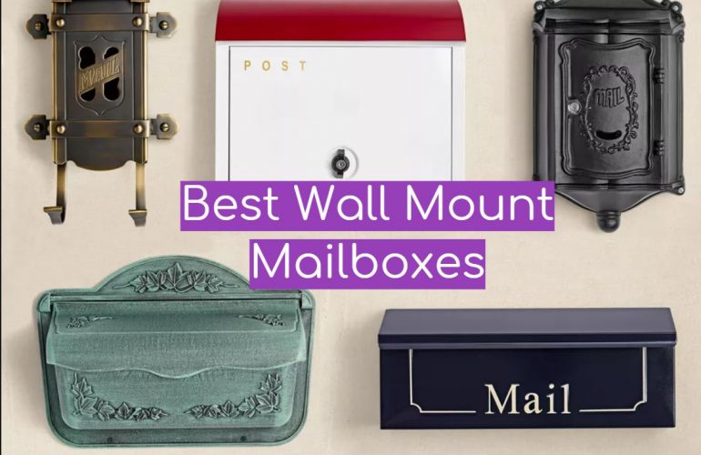 5 Best Wall Mount Mailboxes